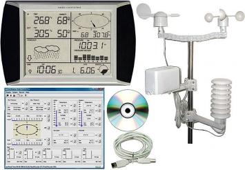 Meteostanice WH1080 s připojením k PC (T104)