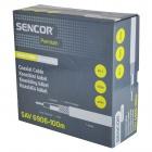 SAV 6906-100m Koax. kabel RG-6 SENCOR