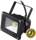 LED reflektor Solight venkovní, 10W, 800lm, AC 230V, černá WM-10W-E