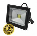 LED reflektor SMD 20W černý, 1xCOB LED WM-20W-E