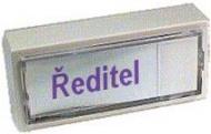 Tlačítko zvonkové tablo staré (z boku) L453