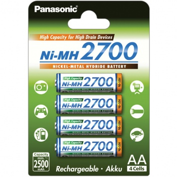 Baterie Panasonic AA 2700mAh 1ks
