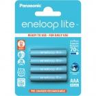 Baterie Panasonic Eneloop Lite AAA 4ks 4LCCE/4BE - 1ks článku