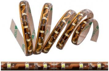 LED pásek SMD3528 5cm teplý bílý IP65
