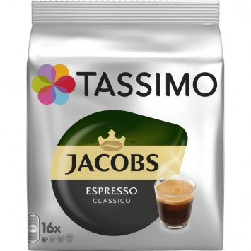 Kapsle Tassimo Jacobs Krönung Espresso 16 porcí