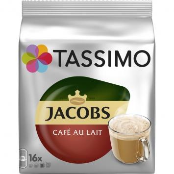 Kapsle Tassimo Jacobs Cafe Au Lait 184 g