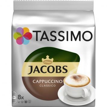 Kapsle TASSIMO Jacobs Krönung Cappuccino 264g 8ks