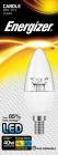 Energizer LED žárovka svíčka 5,9W ( Eq 40W ) E14, S8853, clear - čirá, teplá bílá