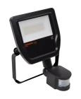 LED Reflektor se senzorem 50W Ledvance Floodlight černý 4000K