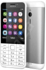 Nokia 230 SingleSIM White silver (CZ distribuce)