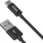 YCU 301 BK kabel USB A 2.0 / C 1m YENKEE