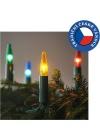 Exihand Vánoční řetěz ASTERIA 10,5 m 16xE10/14V/230V barevná EX0001