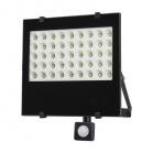 Reflektor LED 50W Solight WM-50WS-F automat černý