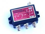 Rozbočovač širokopásmový 3x F IVO I028-PF