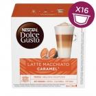 Kapsle Nescafé Latté Macchiatto Caramel 16 ks k Dolce Gusto