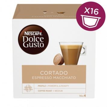 Kapsle Nescafé Cortado 16 ks k Dolce Gusto