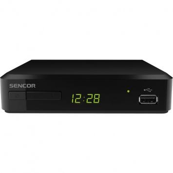 Přijímač DVB-T2 Sencor SDB 520T