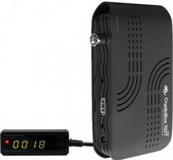 Přijímač DVB-T2 AB CryptoBox 702T mini HD