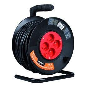 Prodlužovací kabel na bubnu Sencor SPC 51 50m 4 zásuvky