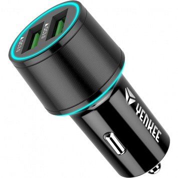 Nabíječka  USB auto Yenkee YAC 2136 QC3.0