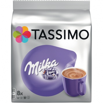 Kapsle Tassimo Milka 240g 8ks