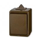 ABB 3553-06929 H Instalační spínač nástěnný IP44 č.6 hnědý