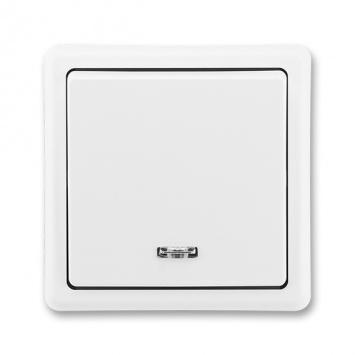 ABB Classic 3553-21289 B1 Vypínač č.1S bílý
