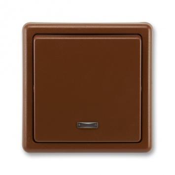 ABB Classic 3553-21289 H3 Vypínač č.1S hnědý