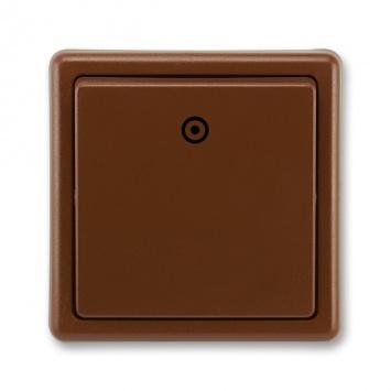 ABB Classic 3553-80289 H3 Vypínač č.1/0 hnědý