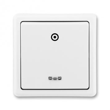 ABB Classic 3553-91289 B1 Vypínač č.1/0S bílý
