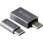 Adapter Yenkee YTC 021 USB C na Micro USB,USB A