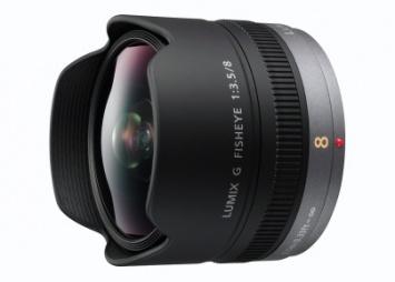 Objektiv Panasonic H-F008 1:3,5/8mm