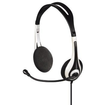 Sluchátka s mikrofonem Hama HS 250