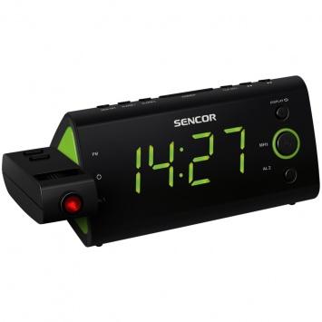 Radiobudík Sencor SRC 330 GN projekce