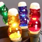 Žárovka ván. E10 20V Sněhulák barevný (Figurka)