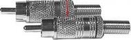 Vidlice cinch nikl kabelová D860-861
