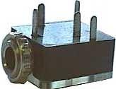 Zásuvka jack 3,5 stereo panelová D029