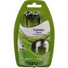 Sluchátka Maxell Combo Pack EBC2