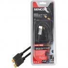 Sencor SAV 166-025 HDMI M-M 2,5m v1.4 P